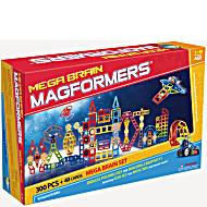 Магнитный конструктор Магформерс Мега Брейн 340 деталей артикул 63100 Новинка