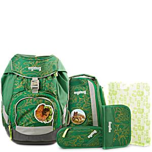 Рюкзак Ergobag BEARasaurus с наполнением + светоотражатели в подарок