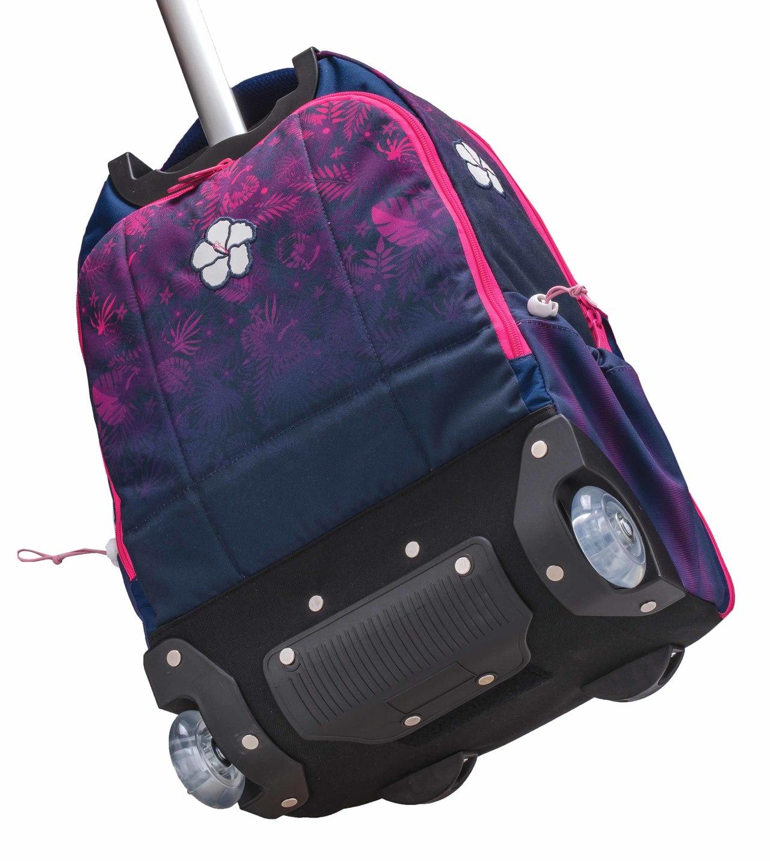 Рюкзак на колесиках с выдвижной с ручкой Belmil BLUE MAGIC 338-45/772, - фото 5