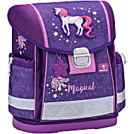 Школьный ранец Belmil 403 13 Magical - Фиолетовый единорог
