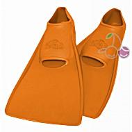 Ласты для бассейна резиновые детские размеры 23-24 оранжевые ПРОПЕРКЭРРИ (ProperCarry)